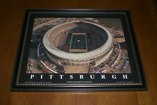 PITTSBURGH STEELERS THREE RIVERS STADIUM FRAMED COLOR PRINT