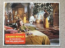 CASINO ROYALE Original JAMES BOND 007 Lobby Card 4 DAVID NIVEN JOANNA PETTET