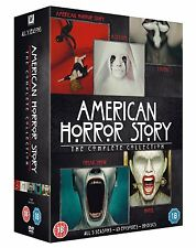 AMERICAN HORROR STORY SEASONS 1-5 COMPLETE DVD BOX SET NEW UK 1 2 3 4 5