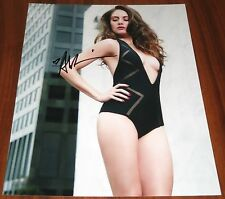 Sexy Alison Brie Signed 11x14 Community Mad Men Lego Movie Exact Proof