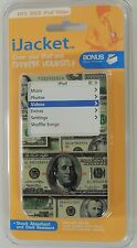 iJACKET iPOD 30Gb VIDEO DOLLAR BILL CASE COVER PROTECTOR W BELT CLIP NEW