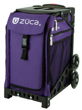 ZUCA Bag REBEL Insert & Black Frame w/Flashing Wheels - FREE SEAT CUSHION