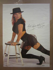 Samantha Fox Hot Girl  vintage Oginal Poster 1988 4591