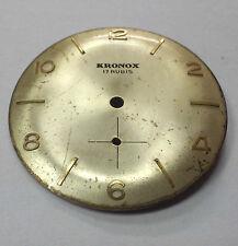 Esfera KRONOX 17 Rubis 32 mm Original Dial Vintage