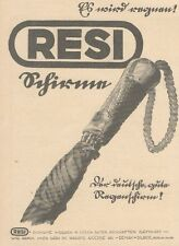 Y6348 Regenschirm RESI - Pubblicità d'epoca - 1925 Old advertising