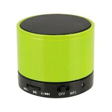 Bluetooth Wireless Mini Portatile Altoparlanti Verde per iPhone iPad MP3 rechargble