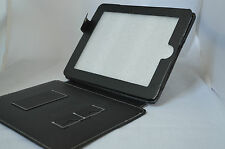 For New Apple iPad 4 3 2 Stand Case Cover Black #!!!!