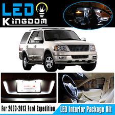 17X For Ford Expedition 2003-2013 Car Interior LED Light Package Kit White 12V