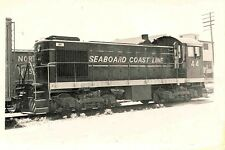 P652 RP 1950/60s SCL SEABOARD COAST LINE RAILROAD ENGINE #44
