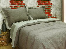 "100% Pure linen Eco Organic 4psc Duvet Cover Set by ""Your Linen"" King"