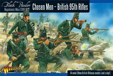 CHOSEN MEN NAPOLEONIC BRITISH 95TH RIFLES - WARLORD GAMES - BLACK POWDER