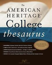The American Heritage College Thesaurus, First Edition-ExLibrary