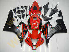 Black Red Injection Mold Fairing Plastic Fit for Honda 2007 2008 CBR600RR mB7
