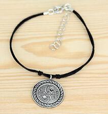 Armband - Baumwolle  - Celtic  keltische Knoten - yin yang
