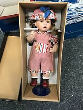 Künstlerpuppe Porzellan Puppe ca. 43 cm. Top Zustand