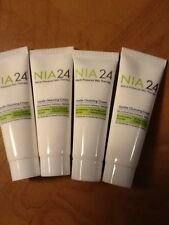 4 x 0.34oz Samples NIA24 GENTLE CLEANSING CREAM FREE shipping NIA 24