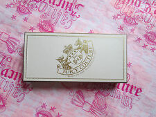 "Juicy Couture Box Gift Storage Jewelry Pink Gold Leather Lined 9.25"" x 4.5"" NWD"