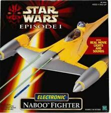 Star Wars Episode 1 Electronic Naboo Fighter Ship 1998 R2-D2  Lights/Sounds .