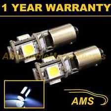 2X BA9s T4W 233 SANS ERREUR CANBUS BLANC 5 AMPOULES LED CLIGNOTANTS HID SL101402