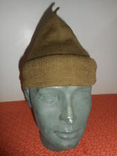 G,BRITAIN ARMY :  WWII  COMMANDO WOOL CAP or SCARF COMFORTER  #