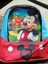 Backpack/Lunchbox Combo 2 pc Disney Mickey Mouse Clubhouse Multi-color