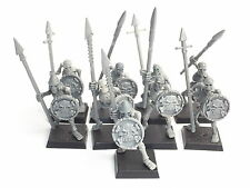 VAMPIRE COUNTS SKELETON WARRIORS X 9. ASSEMBLED. CR