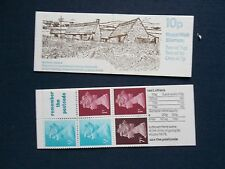 FA5 MOST PHOSPHOR OMIT 10P MACHIN NORTHERN IRELAND FARM BUILDINGS STAMP BOOK