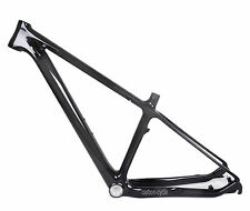 "16"" BSA Carbon MTB Frame Mountain Bike Clamp 29er 9mm QR 3k glossy Disc brake"