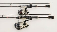 2 Quantum Vibe Spin Fishing Reels, 6.5ft IM6 Graphite Rods NEW
