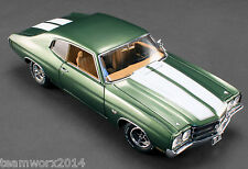 ACME 1970 Chevrolet Chevelle LS6 Pilot Diecast Car 1:18 A1805504 LE of 994