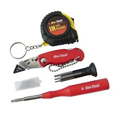 AM TECH 17pc MINI TOOL KIT PRECISION TORX SCREWDRIVER SET TOOLS TAPE MEASURE
