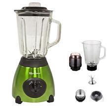 Verde 500w Eléctrica Multi Licuadora Con Amoladora Smoothie Procesador de alimentos Regalo
