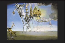 DALI - TEMPTATION OF ST ANTHONY ART POSTER - 24x36 SHRINK WRAPPED - PRINT 3199