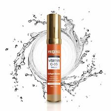 Vitamin C (L-Ascorbic Acid) 35% with Pure Hyaluronic Acid Anti Aging Serum 1.0oz