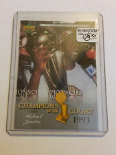 2007-08 Upper Deck First Edition Champions of the Court #CCMJ Michael Jordan