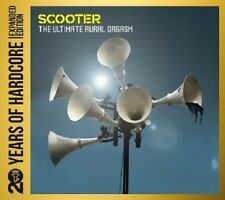 SCOOTER - 20 YEARS OF HARDCORE:THE ULTIMATE AURAL ORGASM 2 CD DANCE/TECHNO NEU