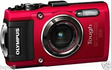 "Olympus TG-4 Waterproof 16mp 3"" Digital Camera Brand New Jeptall"