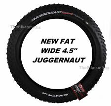 "Kenda Juggernaut Sport DTC 26x 4.5"" WIDE K1151 Fat Bike Tire Wire Bead MTB"