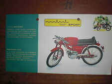Prospekt Sales Brochure SIS V5 Portugal Sport Model Moped Mokick Sachs Motor