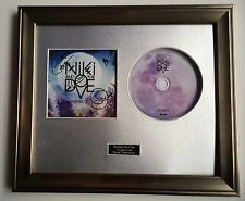SIGNED/AUTOGRAPHED NIKI AND THE DOVE - INSTINCT CD FRAMED PRESENTATION. & RARE