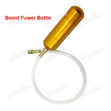 Gold Boost Power Bottle For 2 Stroke Pocket Bike Mini Moto 30cc 50cc 60cc 80cc