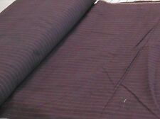 """NEW HOMESPUN 100% cotton dyed woven fabric purples stripe 2 yds x 44"""" wide"""