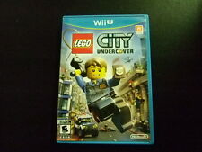 Replacement Case (NO GAME) LEGO CITY UNDERCOVER NINTENDO WII U
