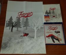 Fargo Blu Ray Remastered + Slipcover + Poster OOP Limited Edition Coen Brothers