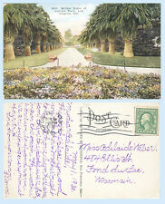 Lincoln Park Los Angeles California dated 1920 Postcard - Scarce