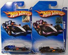 X2-HOT WHEELS 2010 1/10 HW RACING F1 RACER FACTORY SET