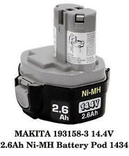 NEW MAKITA 193158-3 14.4V 2.6Ah Ni-MH Battery Pod 1434