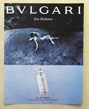 B588-Advertising Pubblicità-2005 - BULGARI AU THE BLANC PARFUMEE