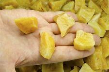 1 Pound of Natural Yellow Aventurine Rough Stones - Cabbing, Tumble Rocks, Reiki