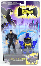 "The Batman Animated BRUCE TO BATMAN 5"" Action Figure Mattel 2004"
